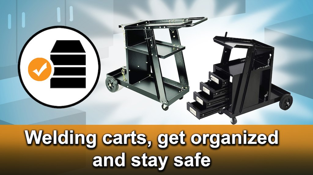 5 Best Welding / Plasma Cutter Cart Reviews 2019 [Buying Guide]