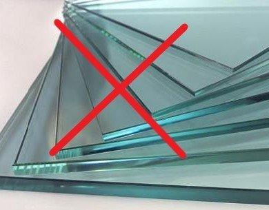 plasma cutter does not cut glass